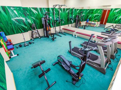 Наши гости могут снимать напряжение и поддерживать физическую форму. В гостинице «Вятка» открыт современный и уютный тренажерный зал.