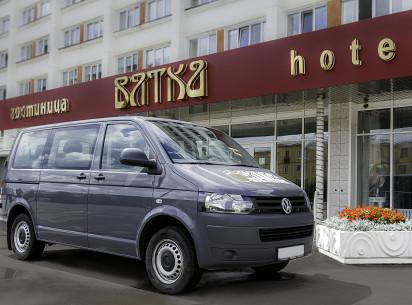 С 1 марта гостиница «Вятка» рада предложить для гостей услугу трансфера.