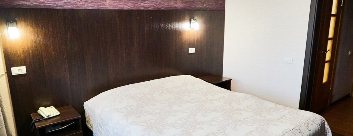Standart room improved with 1.5 bed (1 category) room at the hotel Vyatka Kirov City