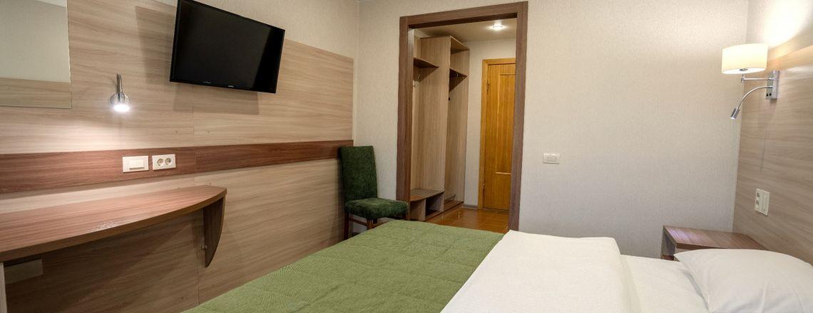 Номер в гостинице Одноместный комфорт (1 кат.)