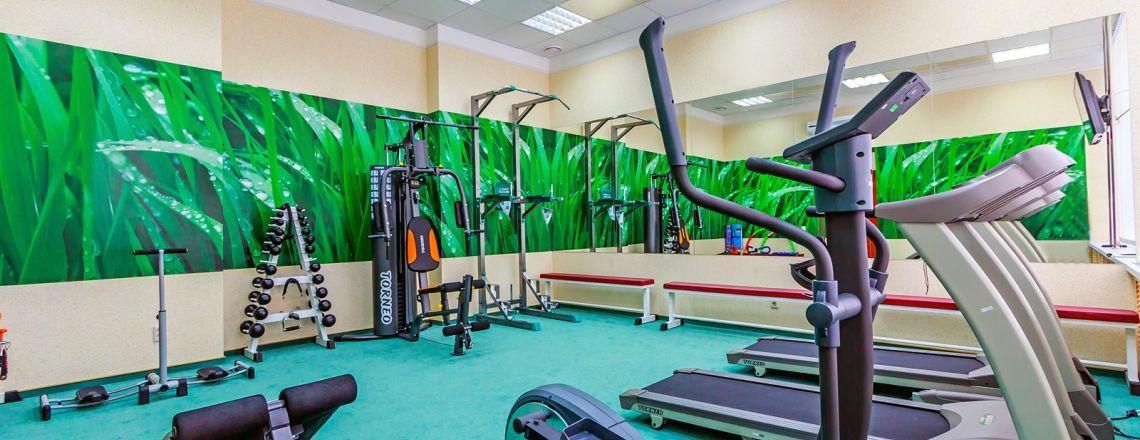 Тренажерный зал в гостинице Кирова «Вятка»