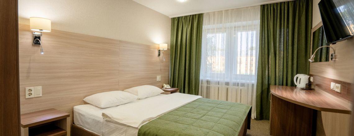 Comfort single-room (1 category) room at the hotel Vyatka Kirov City