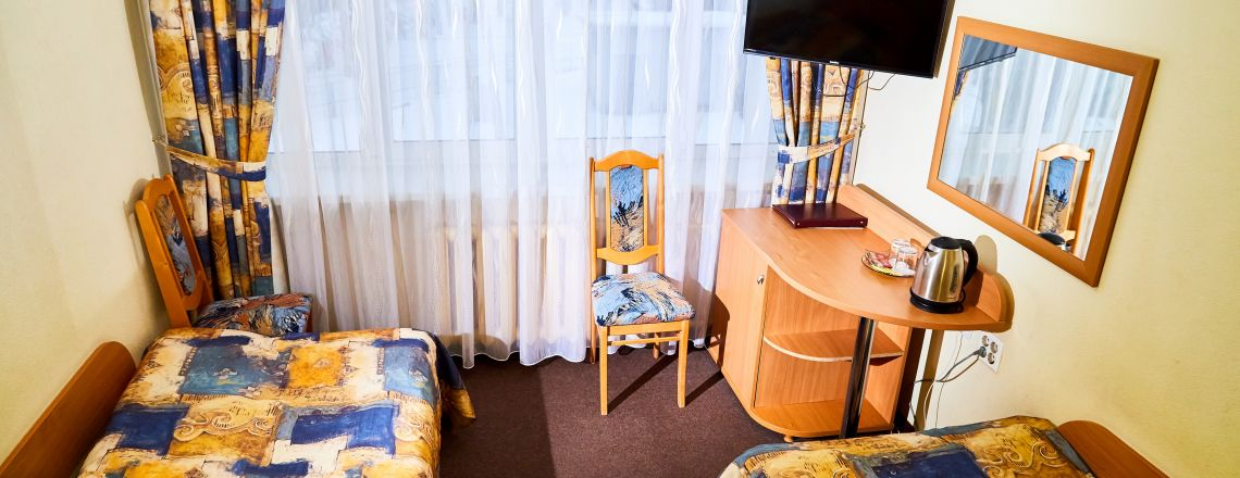 Standard double-room (1 category) room at the hotel Vyatka Kirov City
