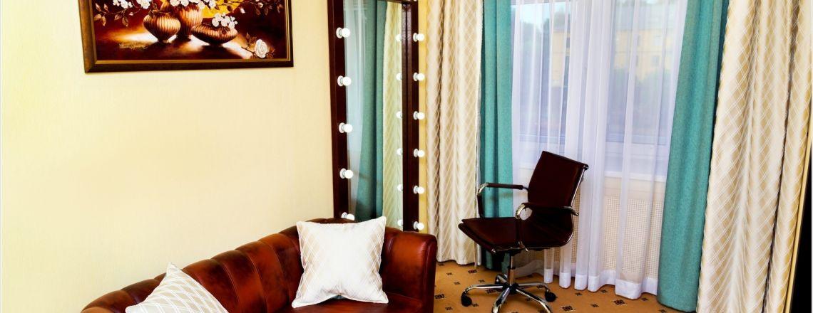 Room for newlyweds room at the hotel Vyatka Kirov City