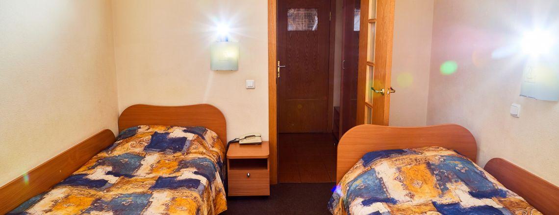 Номер в гостинице Двухместный стандарт (1 кат.)