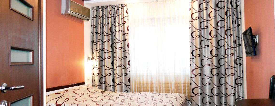 Comfort single-room room at the hotel Vyatka Kirov City