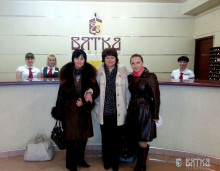 The Vyatka hotel welcomed the jubilee guests.