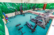Our guests can relax and keep good physical form. A modern comfortable fitness center is opened...